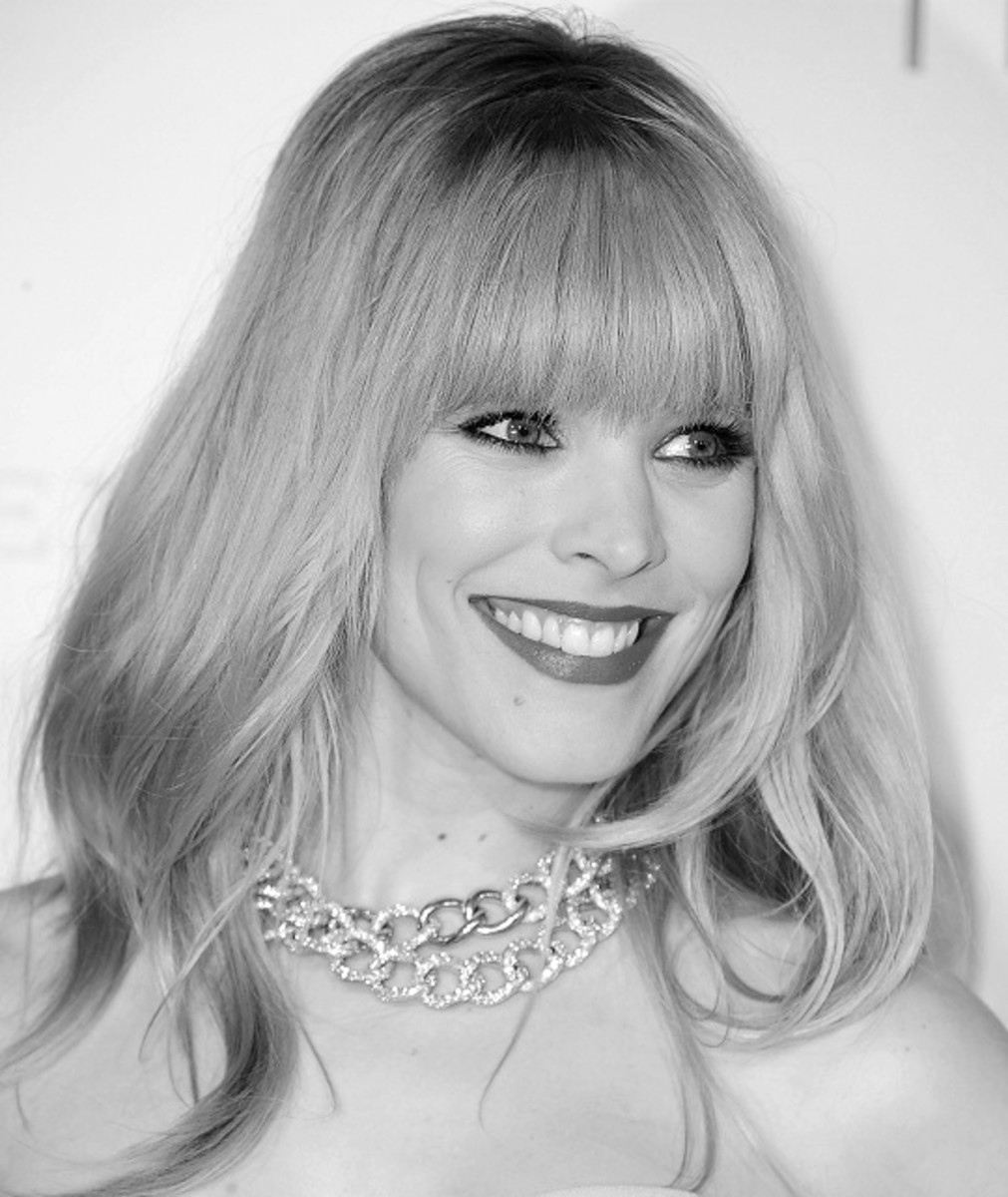 - Rachel McAdams, 2013 Hairstyles with Bangs for Round, Oval, Square, Heart, Oblong Face by Rosie2010 -