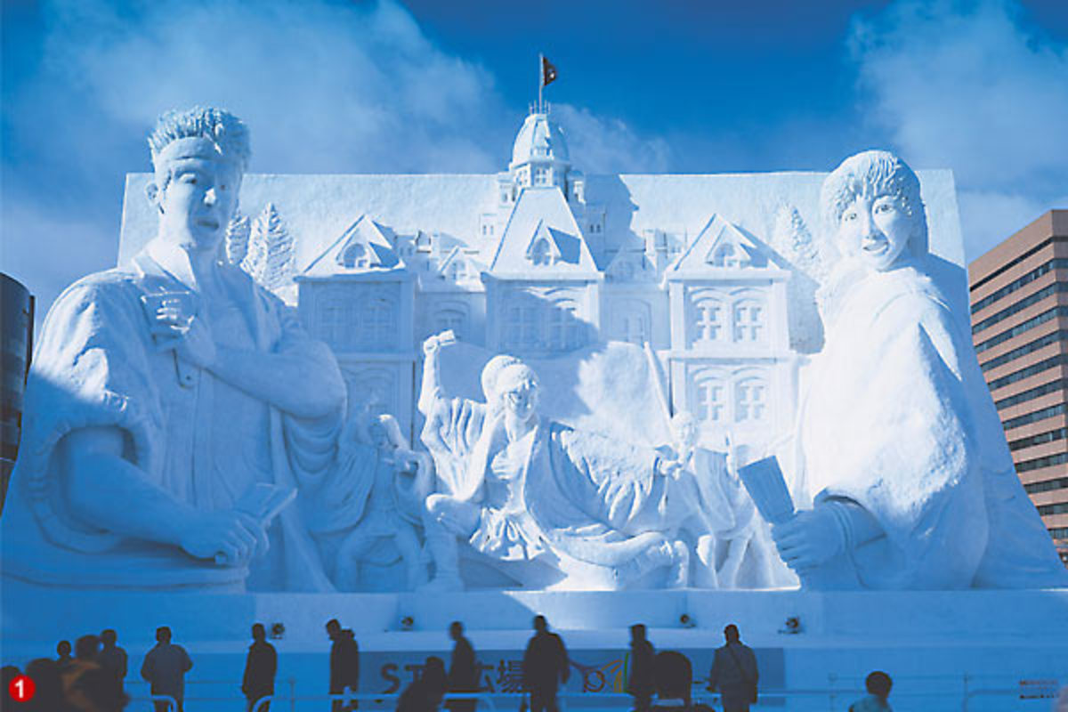 Explore Japan - Sapporo Snow Festival! Incredible!