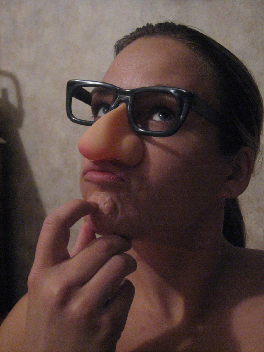 Contemplating a nose job