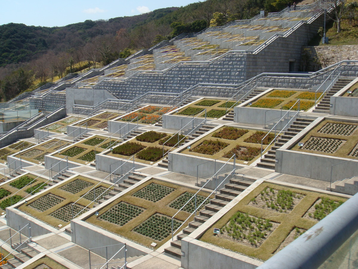 Japan: Awaji Yumebutai by Tadao Ando