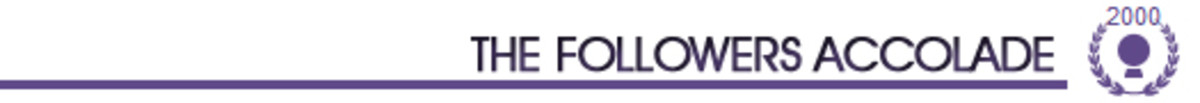 The Followers Accolade