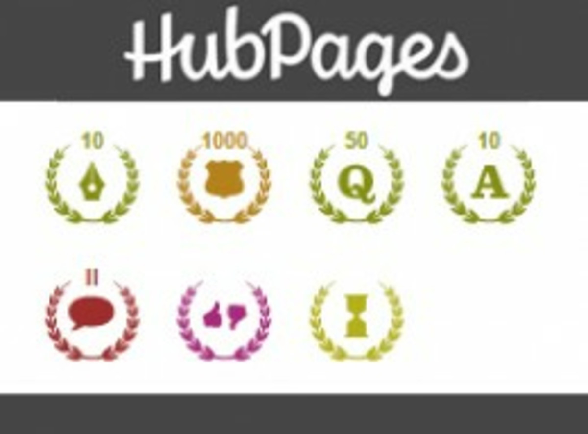 What Are and What Do Accolades Mean in Hubpages?