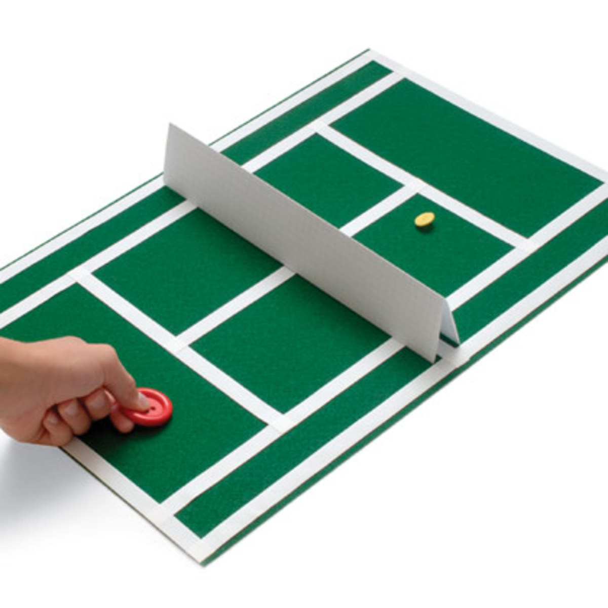 if the wink fails to go over the net your opponent gets a point, if the wink goes over the boundary lines your opponent gets a point.