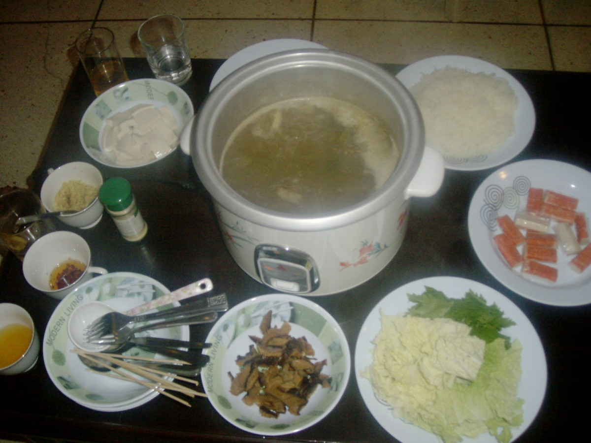 Healthy Shabu Shabu, we can do it too at the comfort of our home