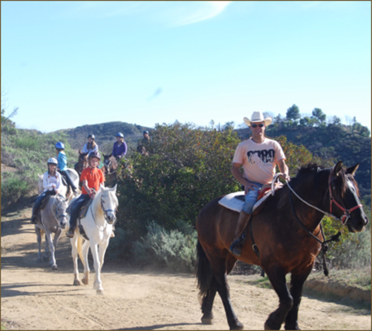 photo courtesy of The LA Horseback Riding.