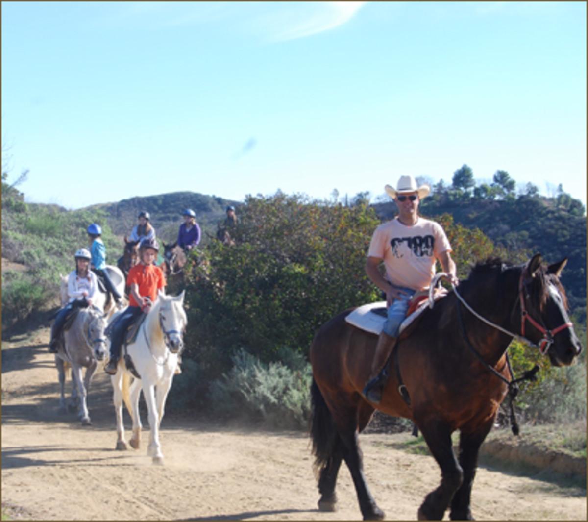 photo courtesy of The LA Horseback Riding.