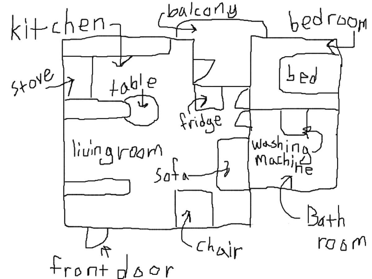 This is the Floor Plan of My Apartment