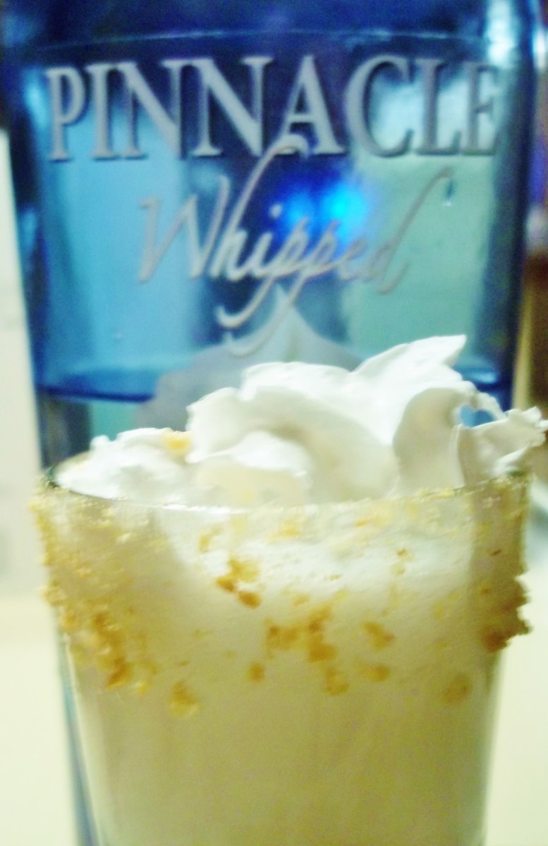 Whipped Vodka Recipes – Lemon Meringue Martini Shot