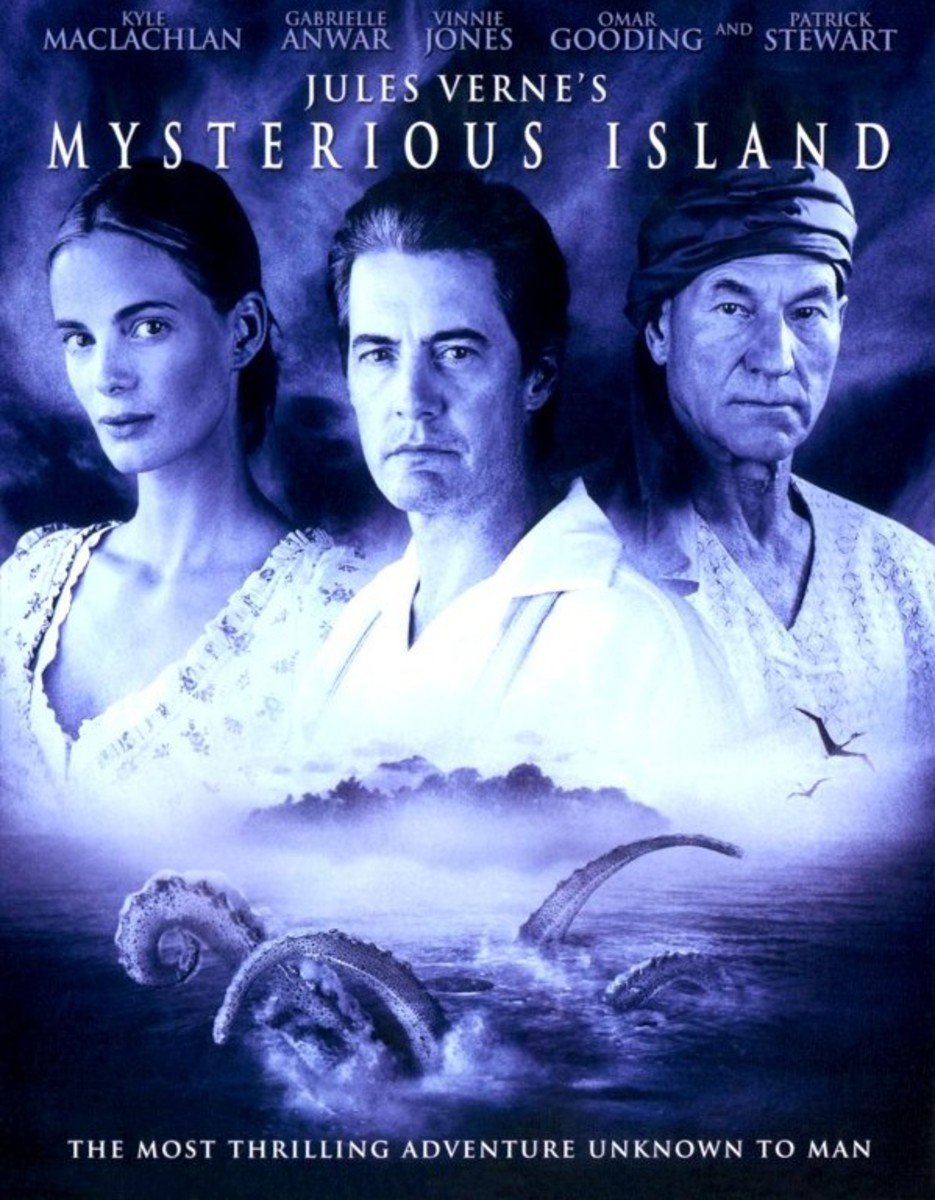 Mysterious Island (2005) poster