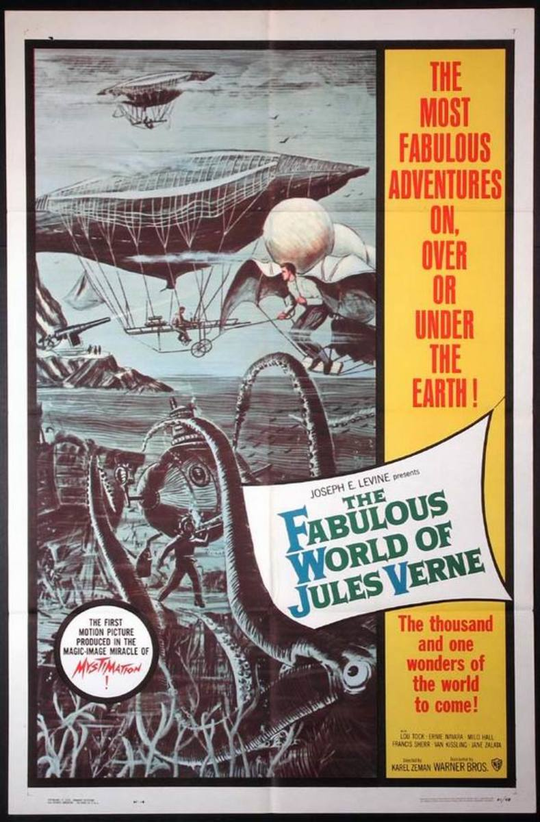 The Fabulous World of Jules Verne (1958) poster