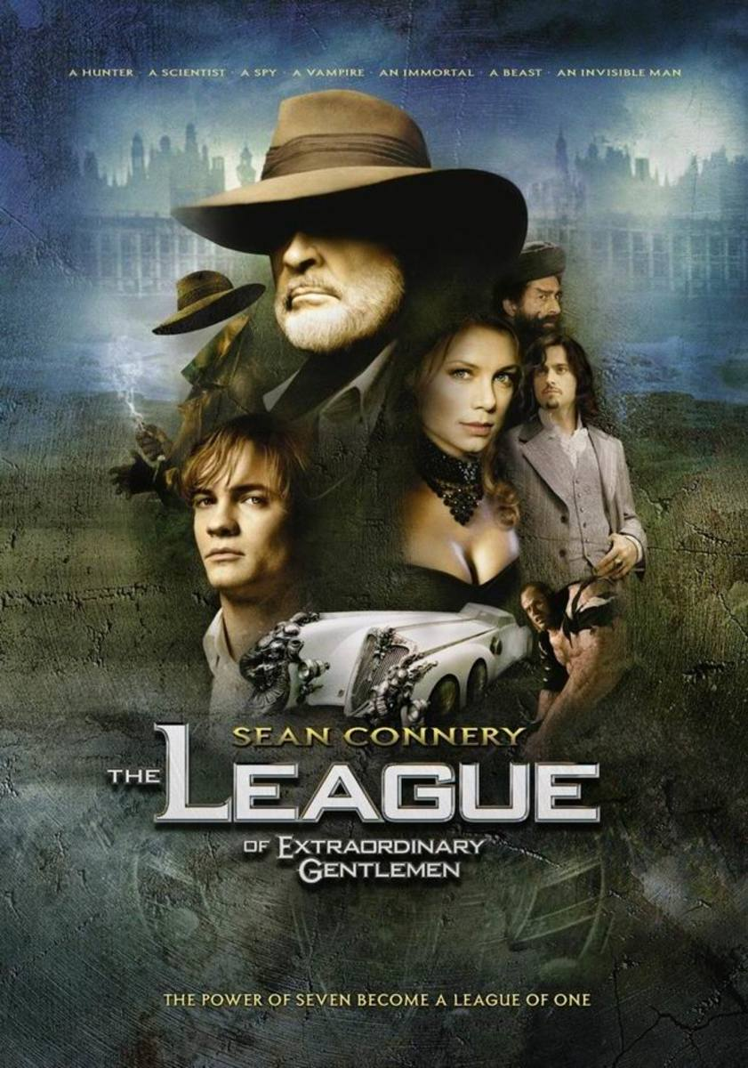 The League of Extraordinary Gentlemen (2003) poster