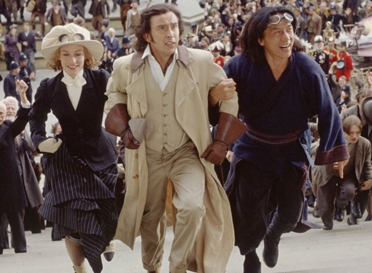 Cecile de France, Steve Coogan and Jackie Chan in Around the World in 80 Days (2004)