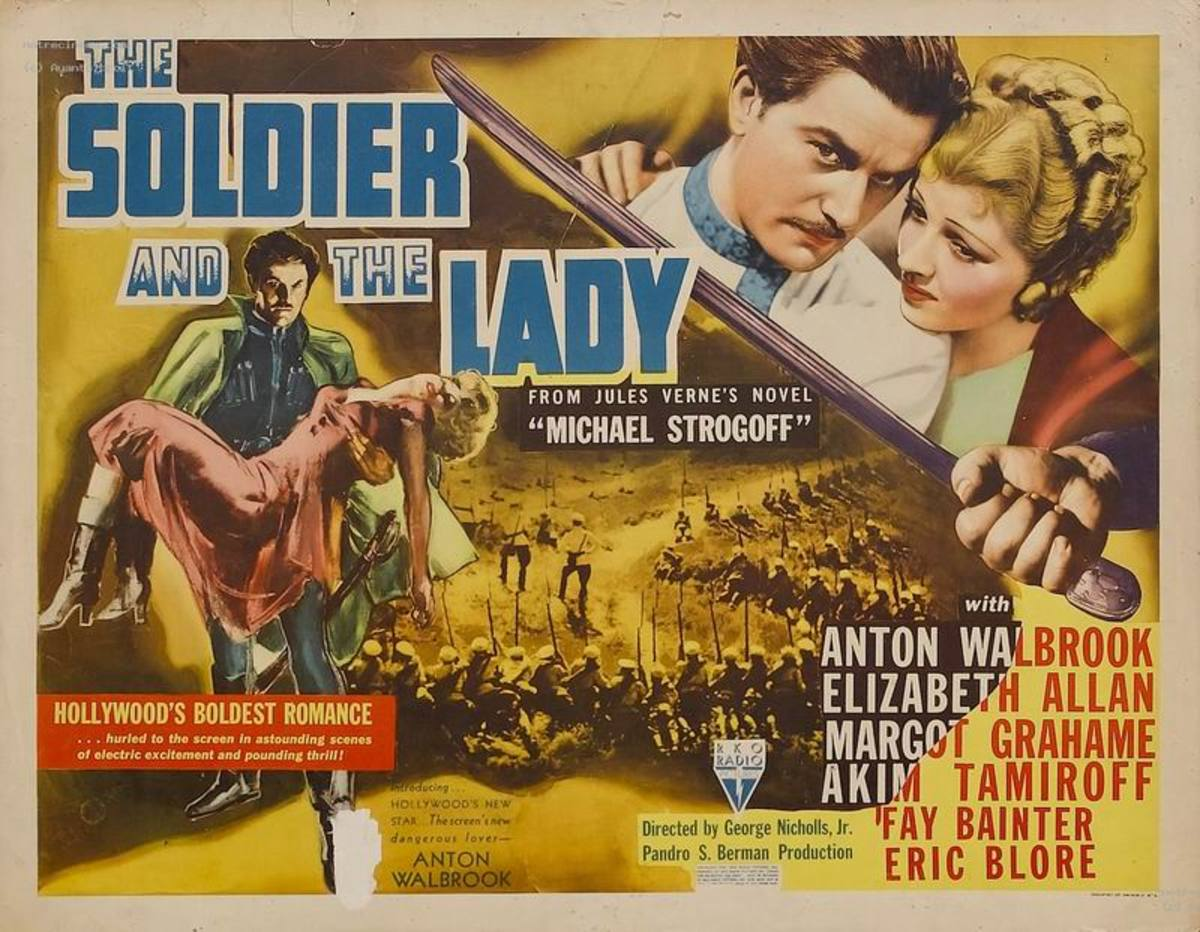The Soldier and the Lady (1937) poster