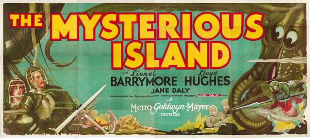 The Mysterious Island (1929) poster