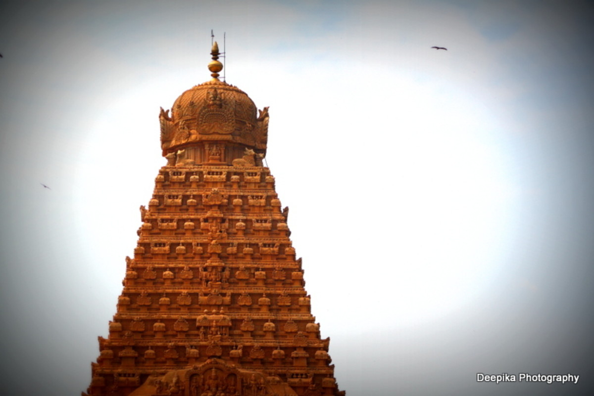 Secrets up inside the Tanjore Big Temple