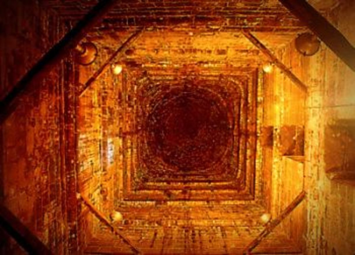 Inside View of the hollow structure - the only one I could find on the internet