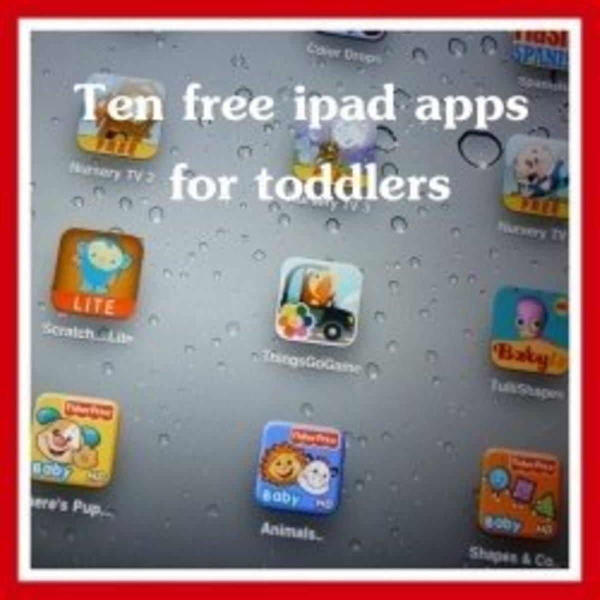 Ten Best Free Toddler iPad Apps