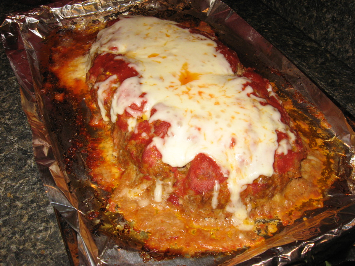 3-Cheese Italian Meatloaf Recipe