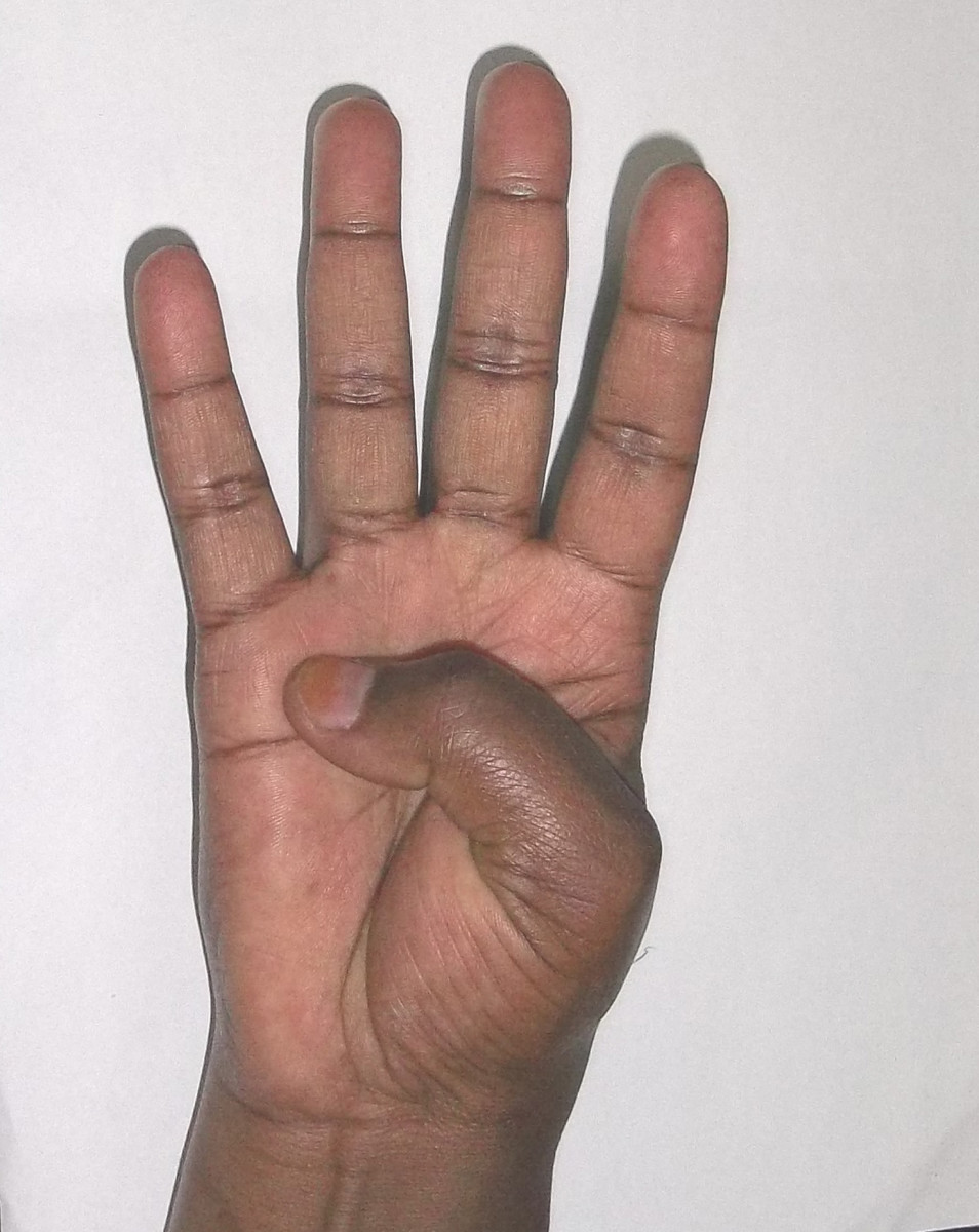 Kikuyu sign language for 4