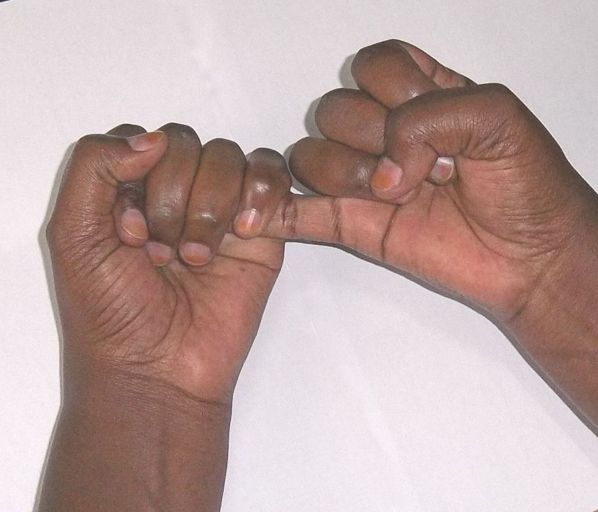 Kikuyu sign language for 6