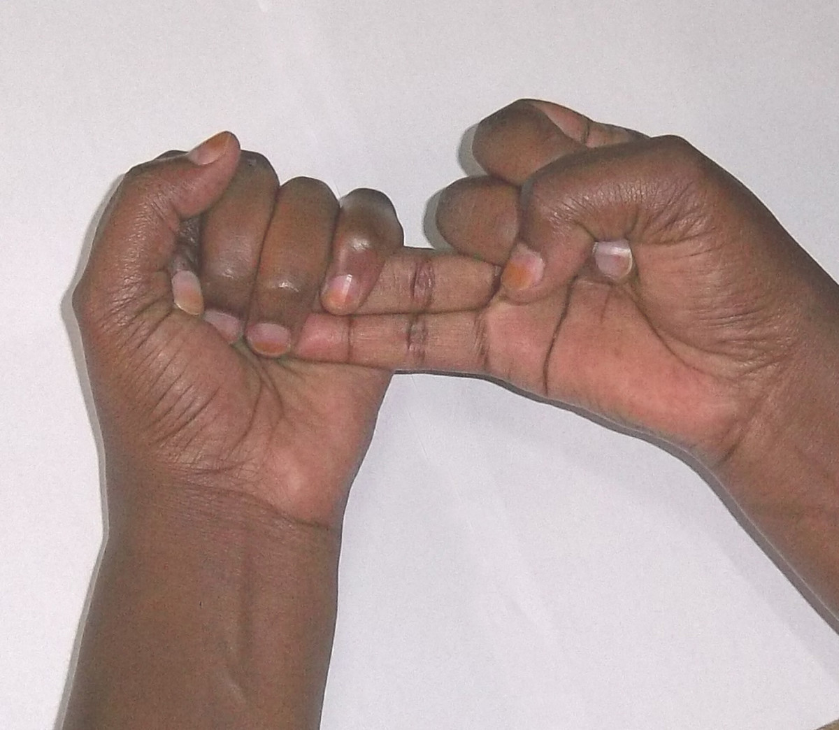 Kikuyu sign language for 7