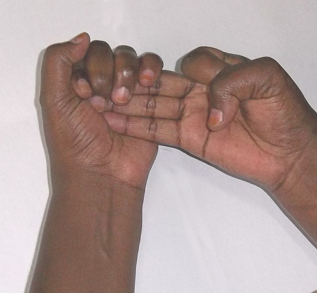 Kikuyu sign language for 8
