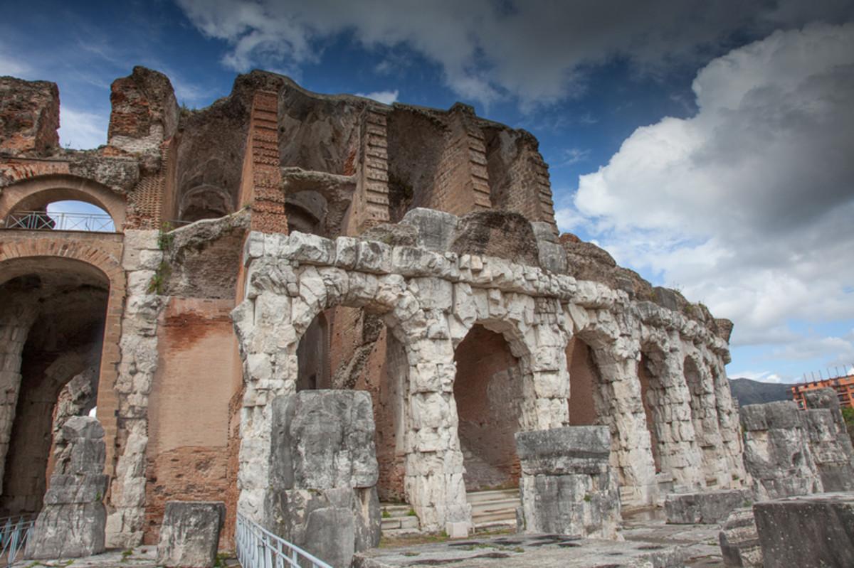 Ancient Roman amphitheatre