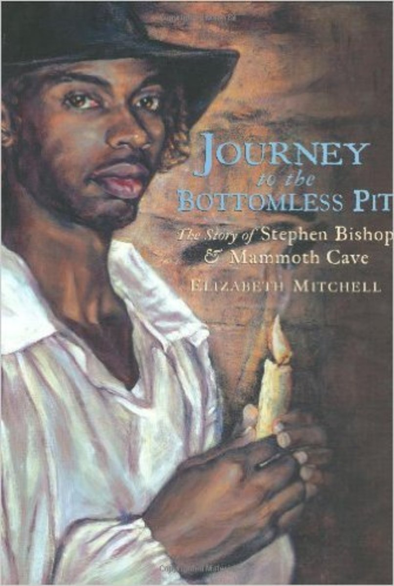 Journey to the Bottomless Pit: The Story of Stephen Bishop and Mammoth Cave by Elizabeth Mitchell - Image credit: amazon.com
