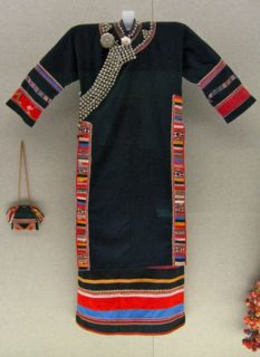Chinese Women's Fashion: Traditional Ethnic Costumes