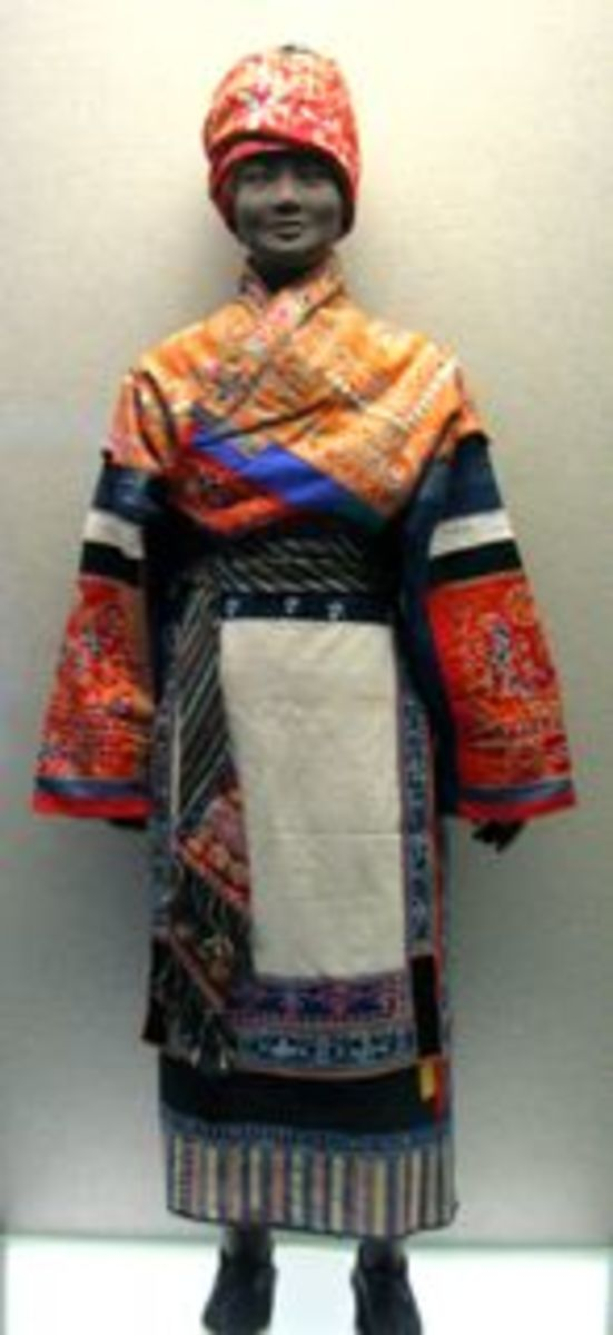 Ceremonial Dress.  Miao ethnic minority.  2nd half 20th Century.
