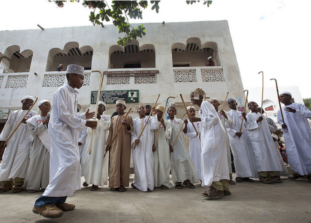 The Ngoma dance