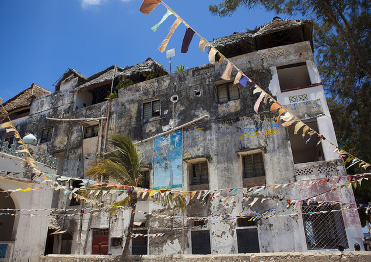 A house in Lamu old town