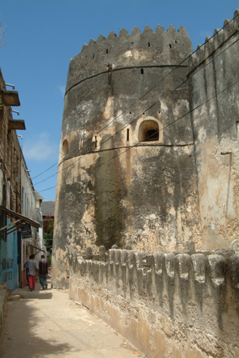 An old building in Lamu Town