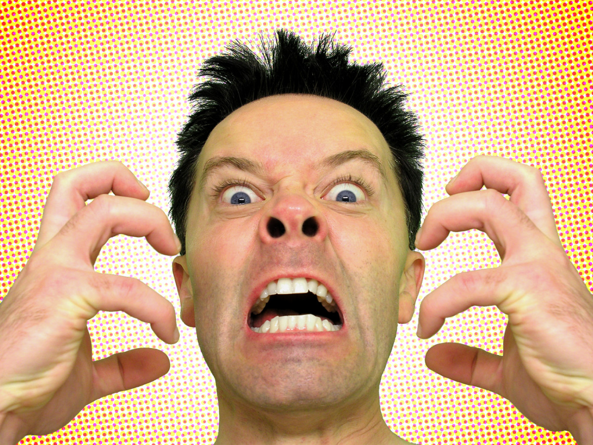 Sometimes I feel like this just listening to religious debate!