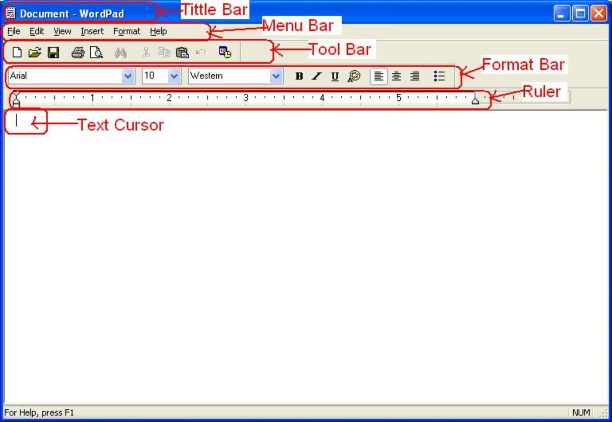 WordPad Windows With its Features
