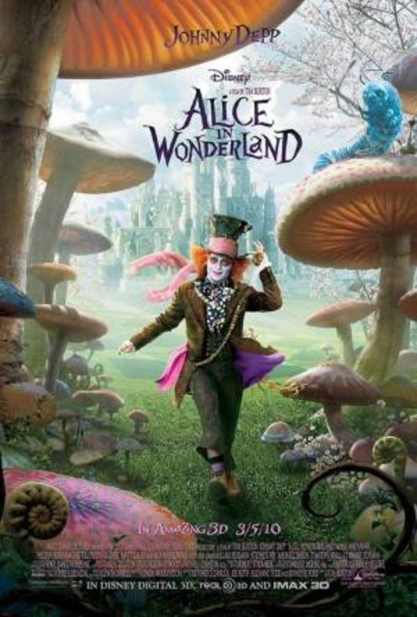 The Mad Hatter from Burton's Alice in Wonderland