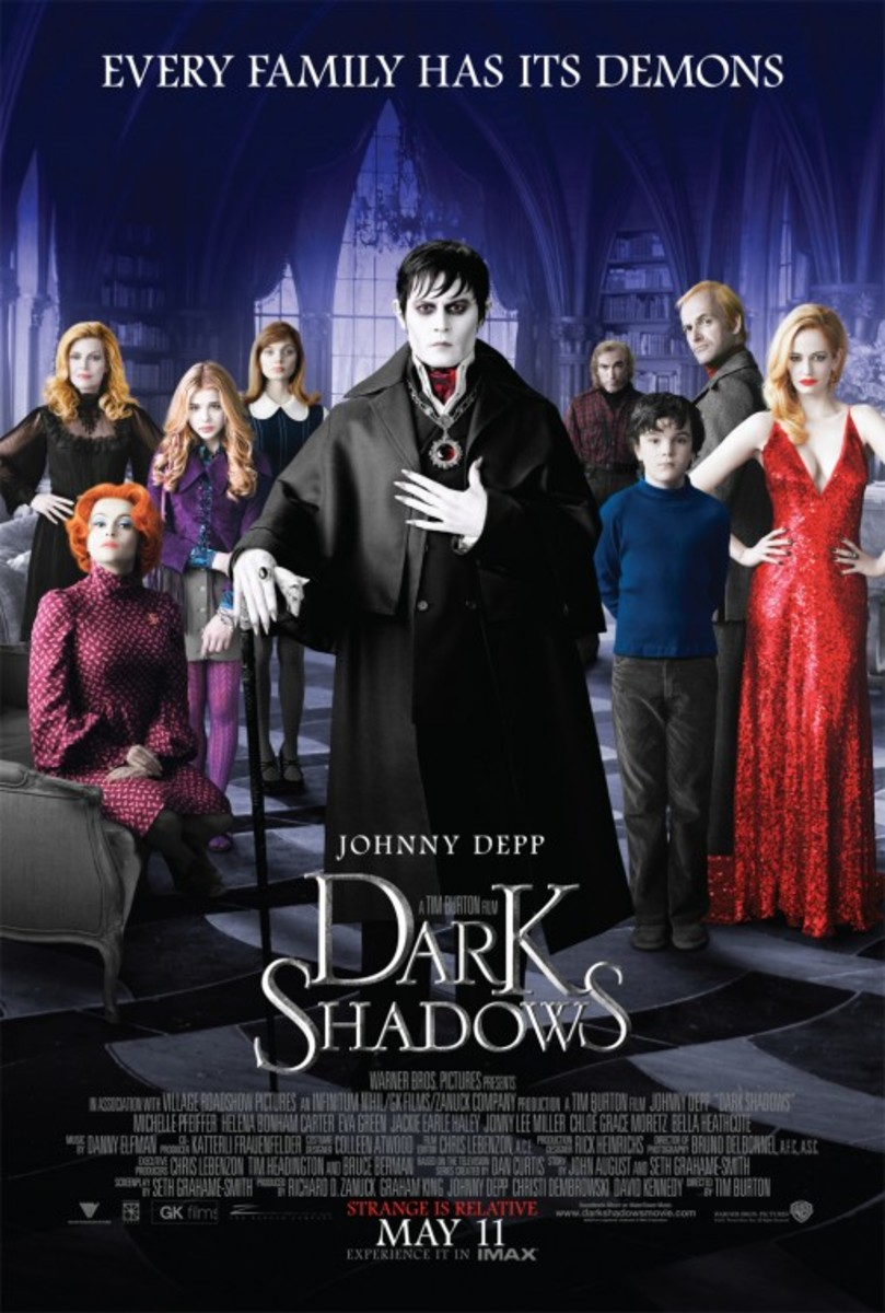 Dark Shadows – My Review