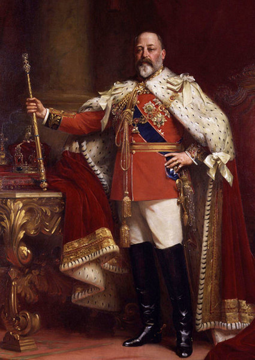 King Edward VII for whom the Edwardian Era was named.