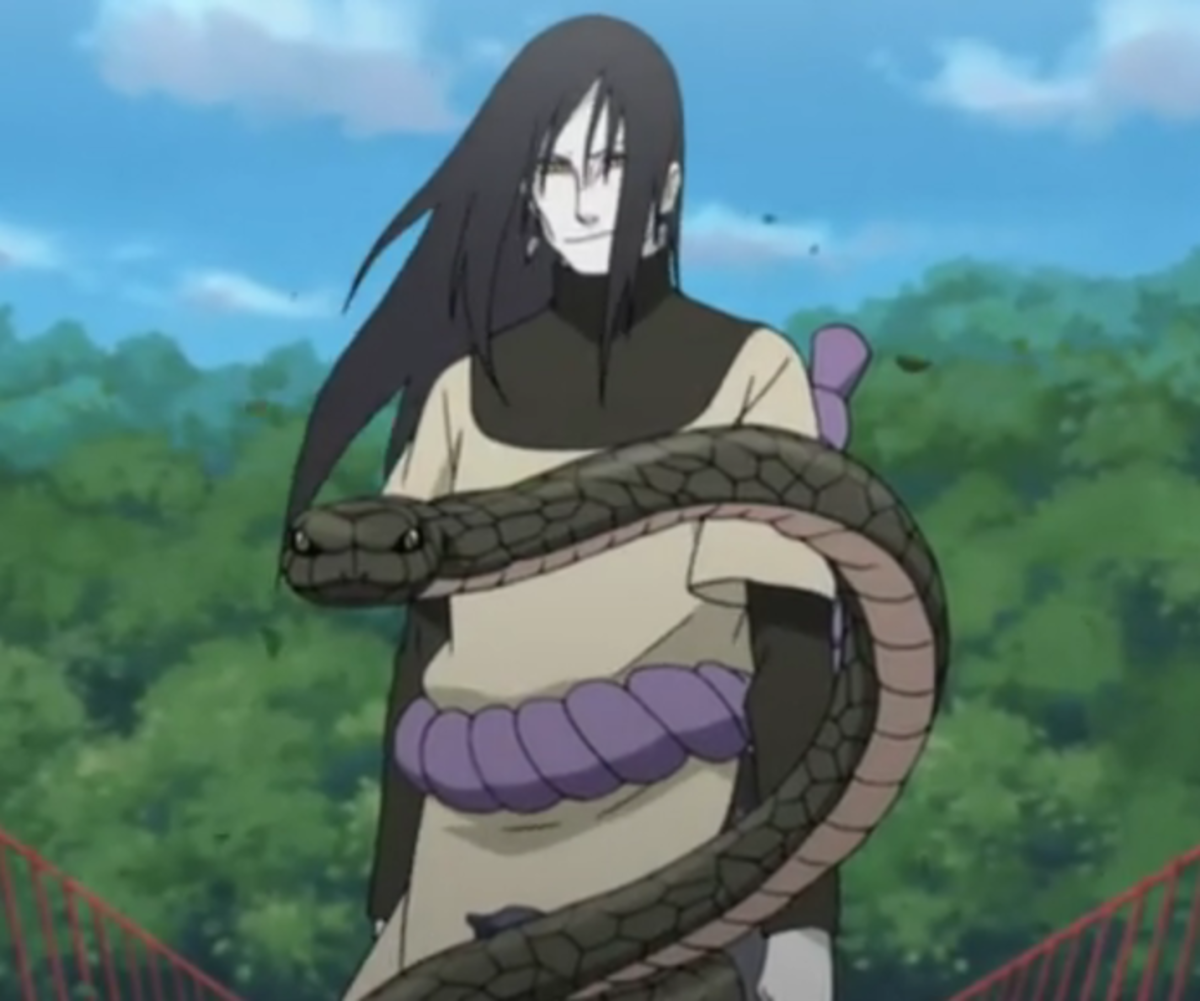 Naruto Character Review: Orochimaru | HubPages