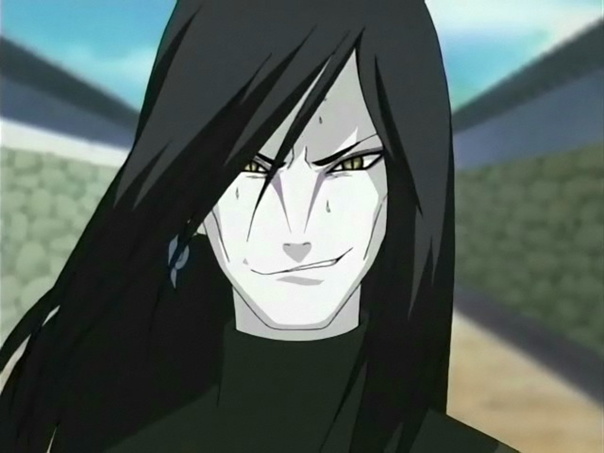 naruto character review orochimaru hubpages