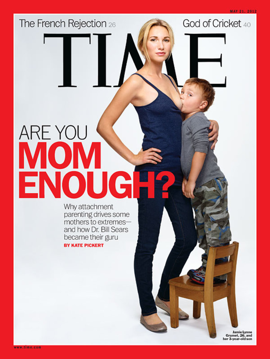 The cover of Time Magazine-- May 21, 2012.