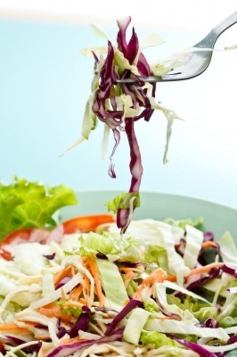 Cole Slaw with Tarragon Vinegar