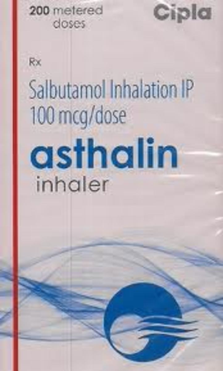 Asthalin Metered dose preparation
