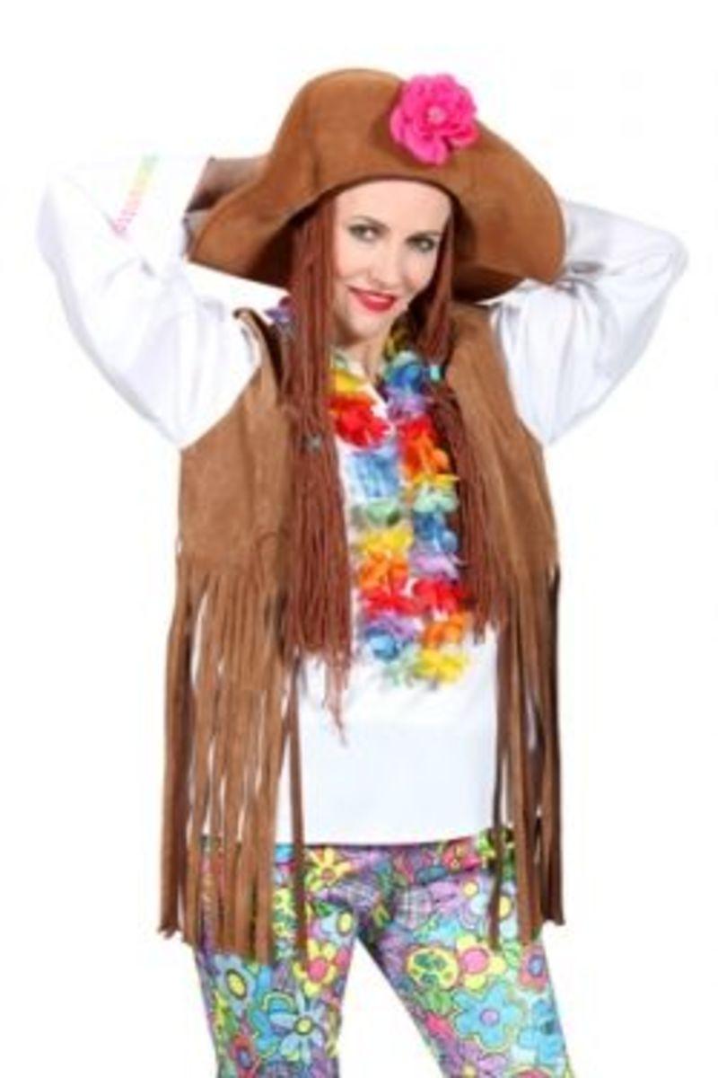 Homemade Hippie Costume