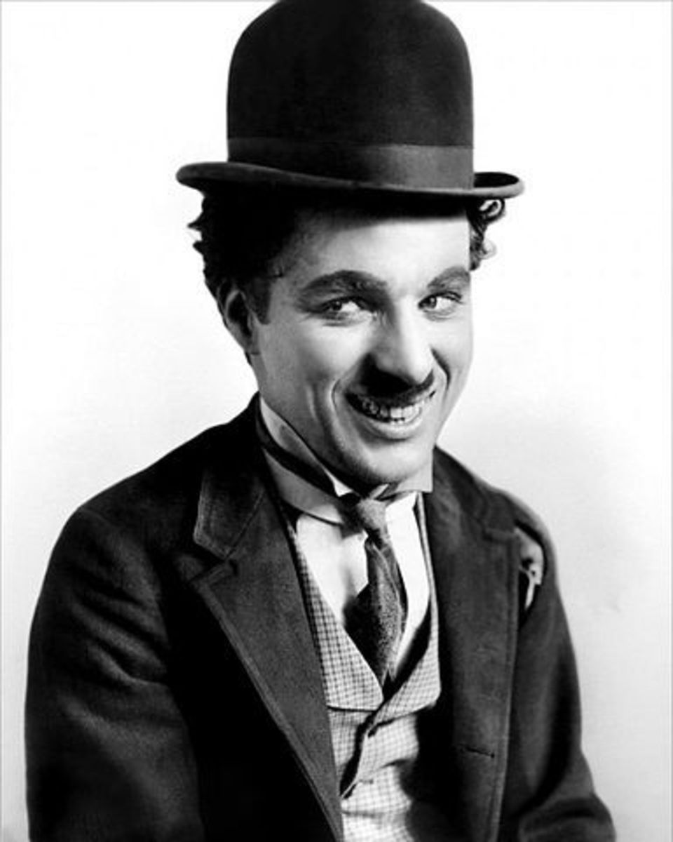 An Easy Homemade Costume Idea Is Charlie Chaplin, The Little Tramp. Charlie Chaplin's picture is in the public domain.