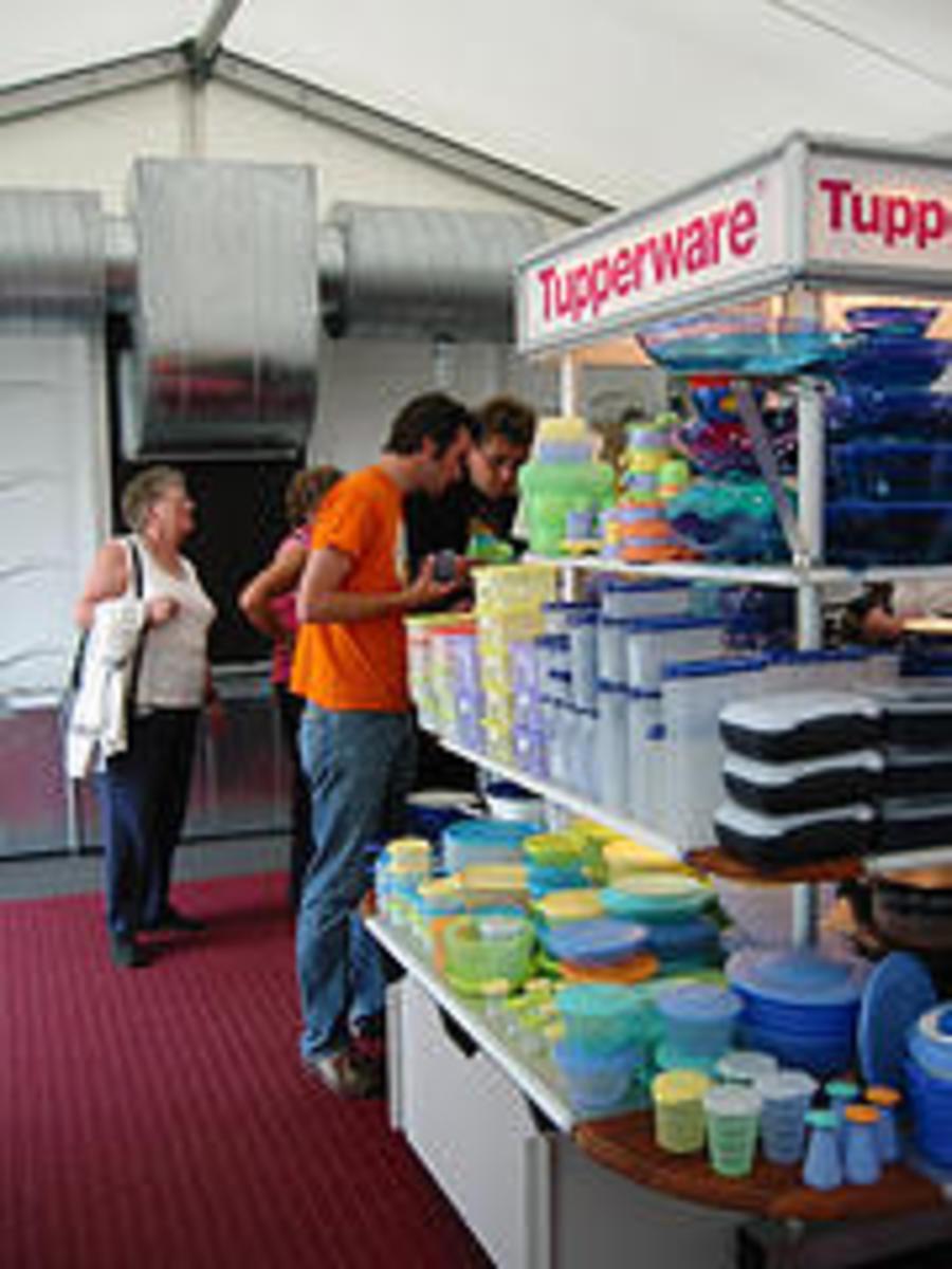 Tupperware Fundraiser