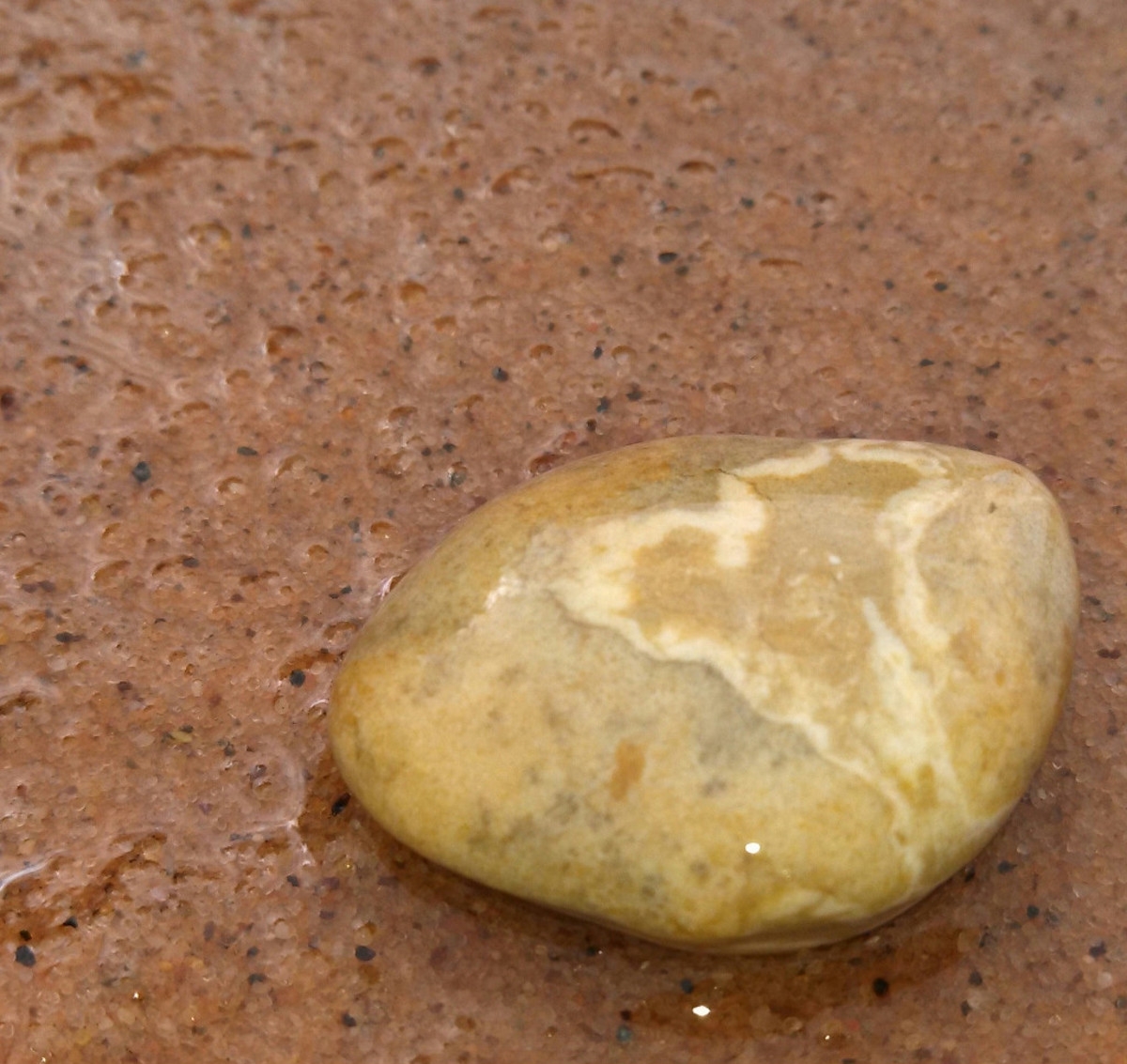 Natural stone found on the south shore of Lake Superior