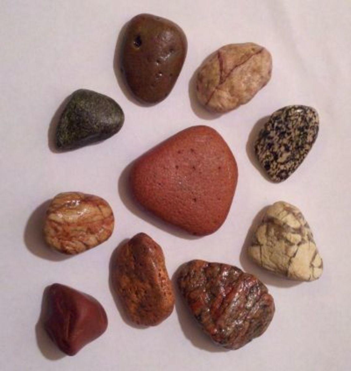 The Same River Stones - Clear Nail Polish