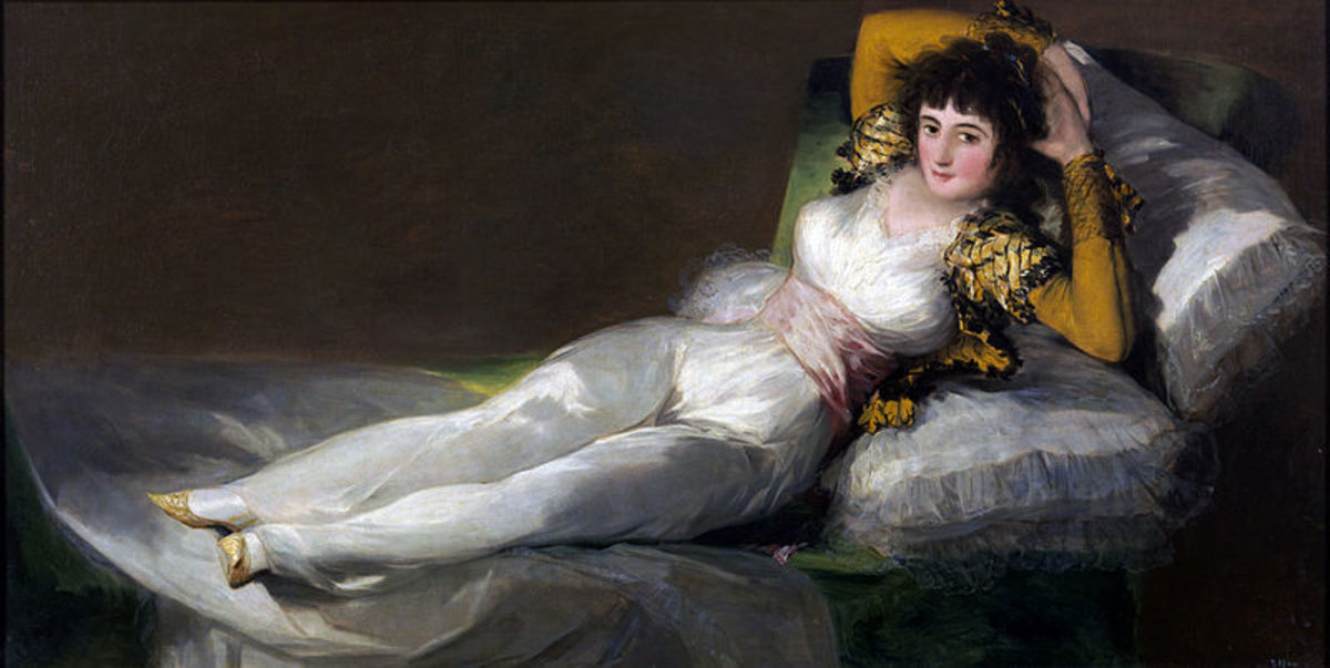 La Maja Vestida (The Clothed Woman) by Francisco Goya  The Prado Museum  Madrid, Spain