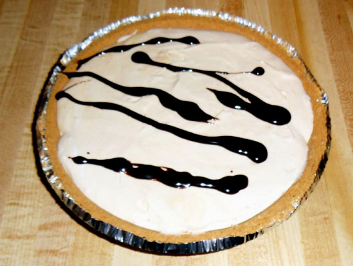 Natural Peanut Butter Pie - Easy